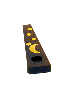 Wood Pipe/ Brass Inlay