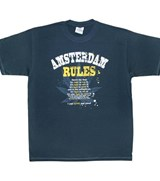 Amsterdam Rules T-shirt
