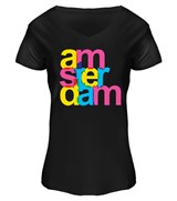 Ladies Amsterdam Neon T-shirt