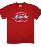 Famous city of Amsterdam T-shirt