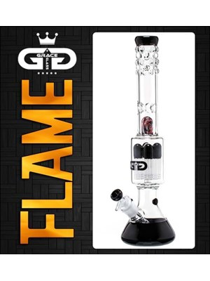 Grace Glass Flame Bong