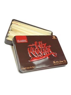 Raw Wiz Cone Storage Tin - King Size