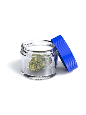 Glass Stash Jar - 15Ml