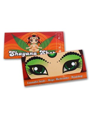 Shayana Slim Rolling Paper With Filters